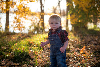 Sullivan and Reeves Fall Family Photos